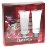 Giorgio Armani Diamonds rinkinys moterims Edp 50ml + 75ml Body lotion + 75ml Shower gel